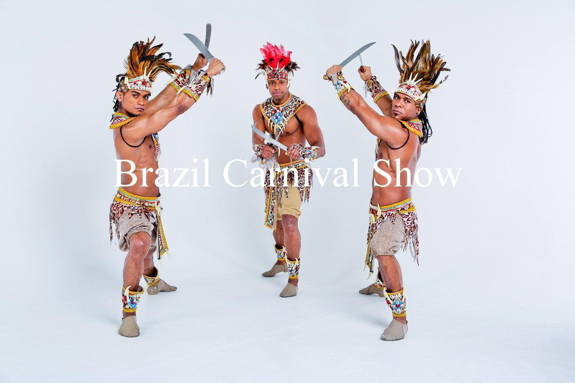 Бразильское шоу макулеле танец с мачете