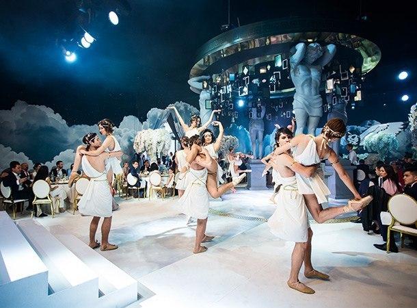Греческое шоу Спарта