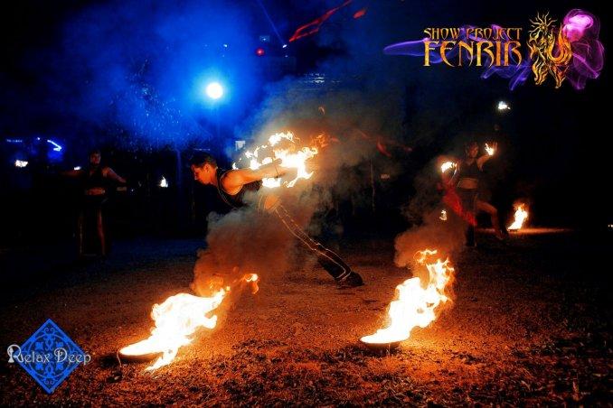 Шоу-Проект FENRIR фаер-шоу