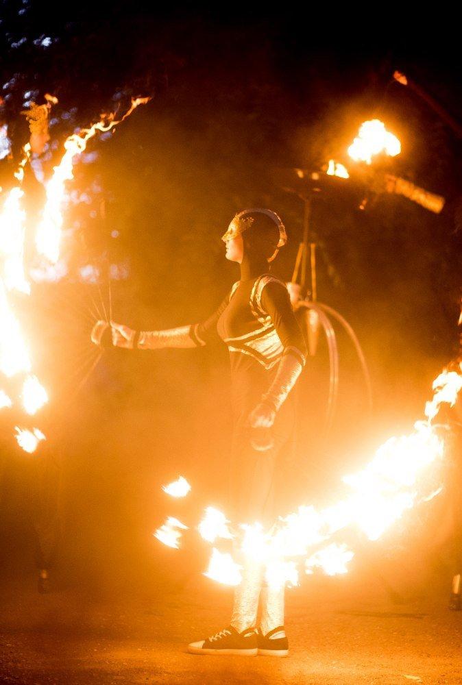Фаер шоу. Fire show