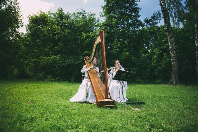 Дуэт Лилиум. Арфа и Хрустальная флейта.