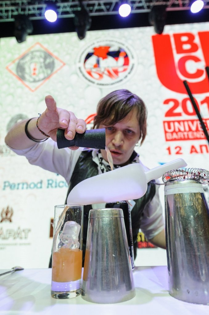 Universal bartender's cup 2019 / UBC Воронеж Игорь Протасов