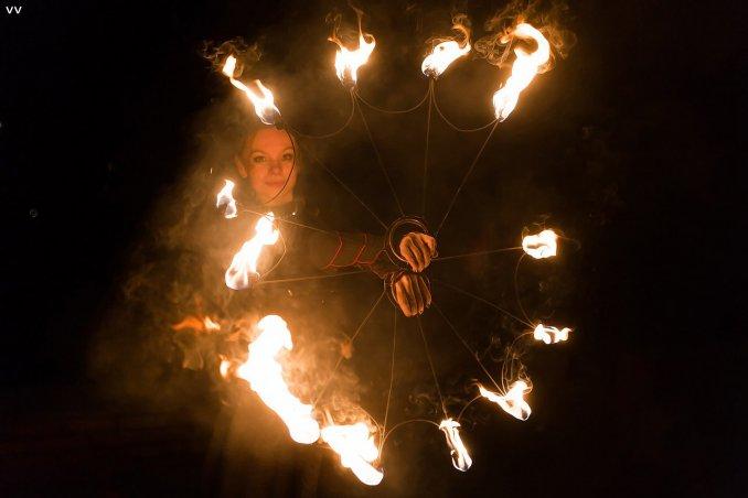 Огненное шоу Воскресенск