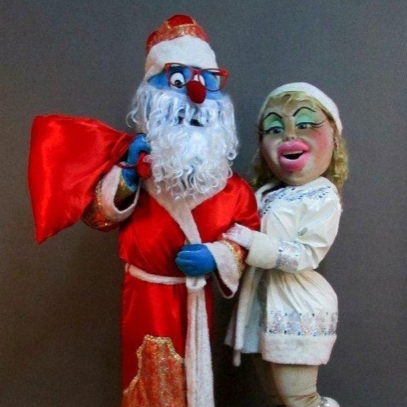 Ростовые куклы на Новый год!