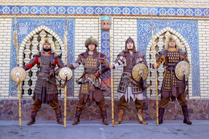 Сарбаз - казахский воин - Батыр