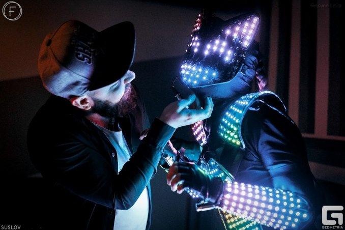 Пиксельное (световое) шоу Ханаби (Pixel light show Hanabi)