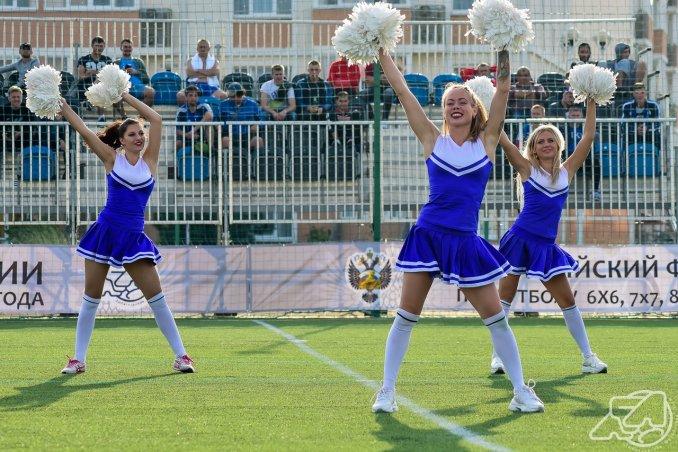 Выступление на чемпионате России по мини футболу