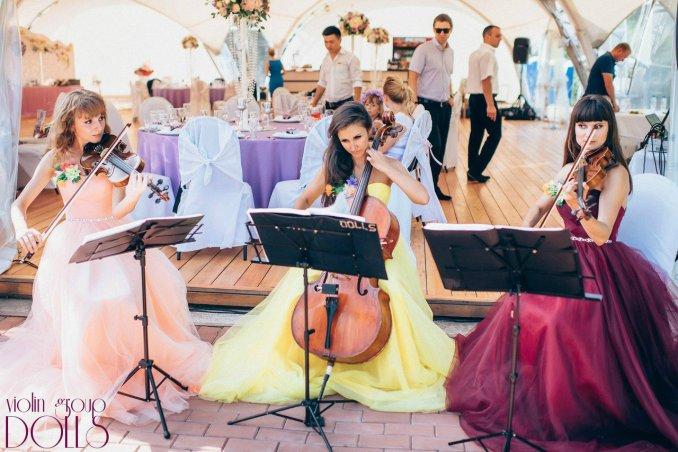 Струнное трио DOLLS на свадьбе