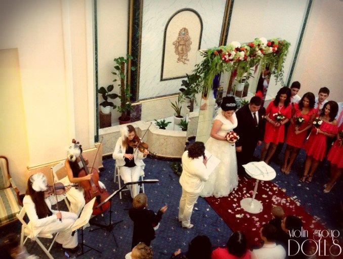 Свадьба с музыкантами Violin Group DOLLS