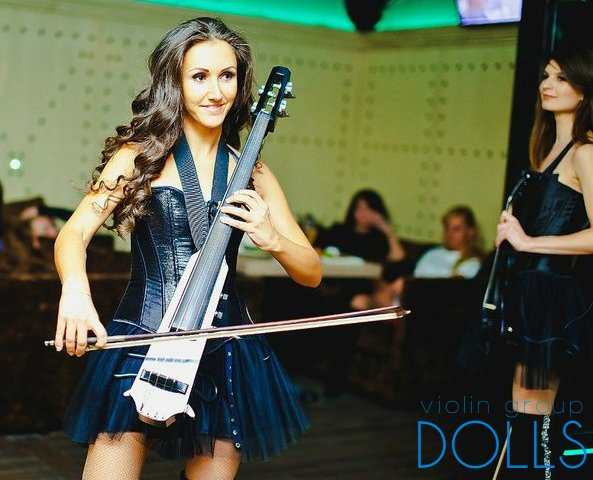 Инструментальное шоу Violin Group DOLLS
