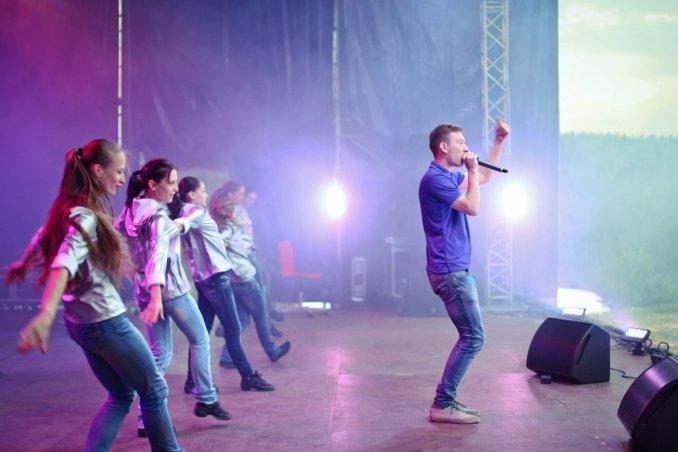 Открытие молодежного фестиваля УТРО