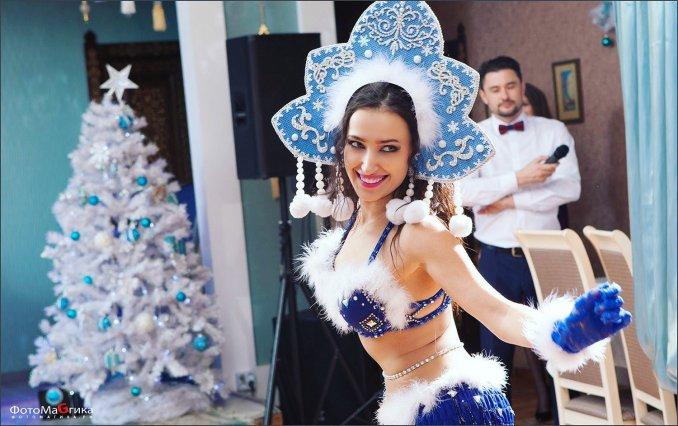 Almaz на новогодних праздниках.