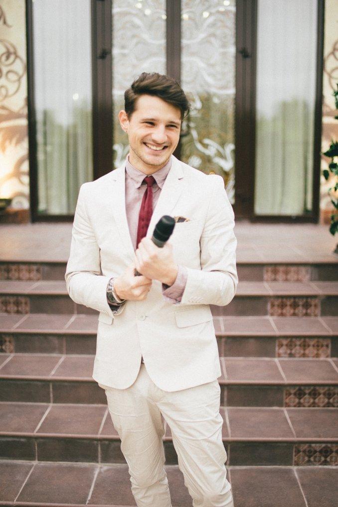 Ведущий на свадьбу в Москве Алексей Кузнецов