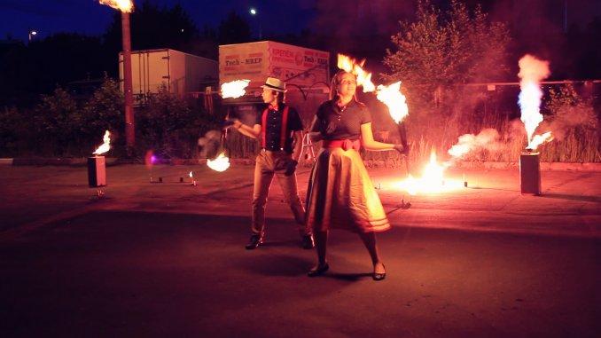 Огненно-пиротехническое шоу «Стиляги»