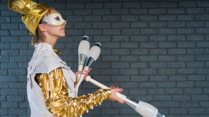 жонглер