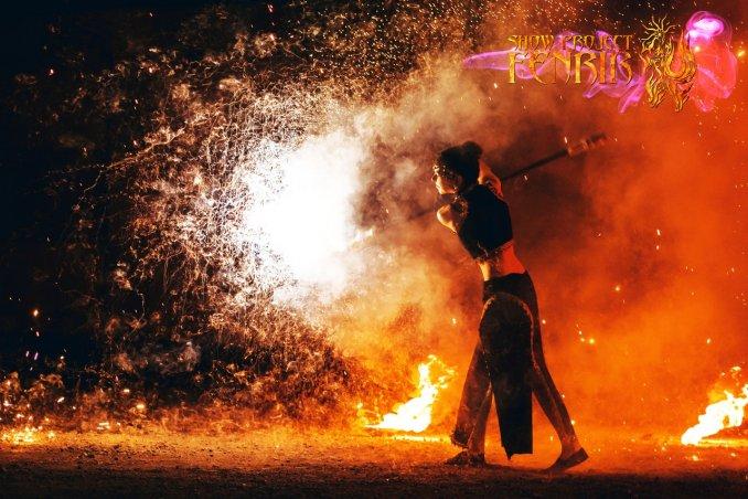 Огненное пиротехническое шоу FenrirShow