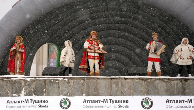 Гусляр Иван Самоваров и его ИВАН-ЧАЙ