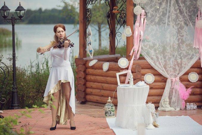 Екатерина Новак-скрипка.