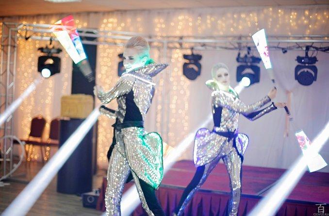 Огненное и Световое шоу Pulsar на свадьбу