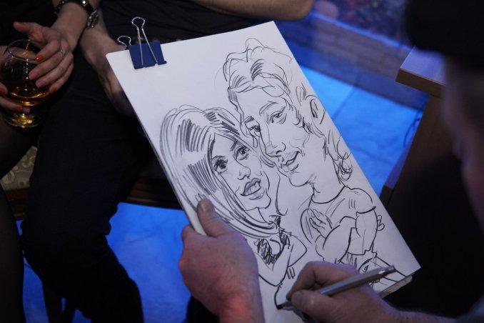 шаржист портретист скетчист художник на мероприятие