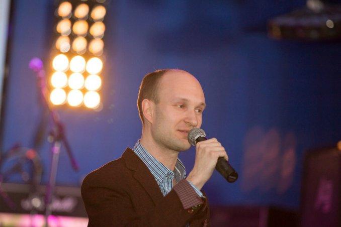 Ведущий Алексей Шаранин