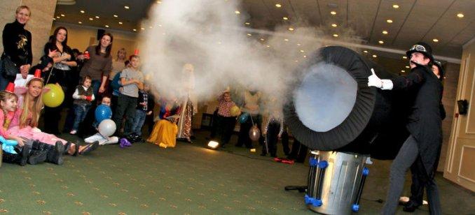 Дымовое шоу
