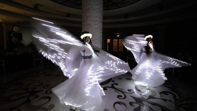 Световое Новогоднее шоу в Ростове