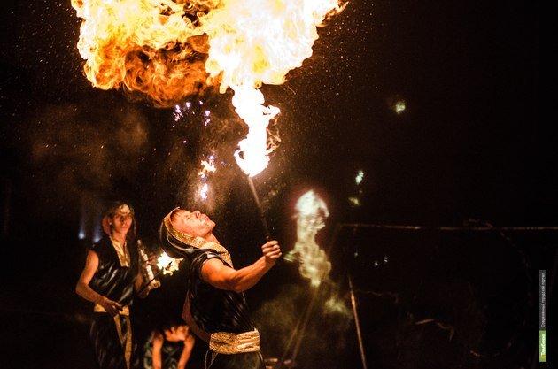 Fire-show
