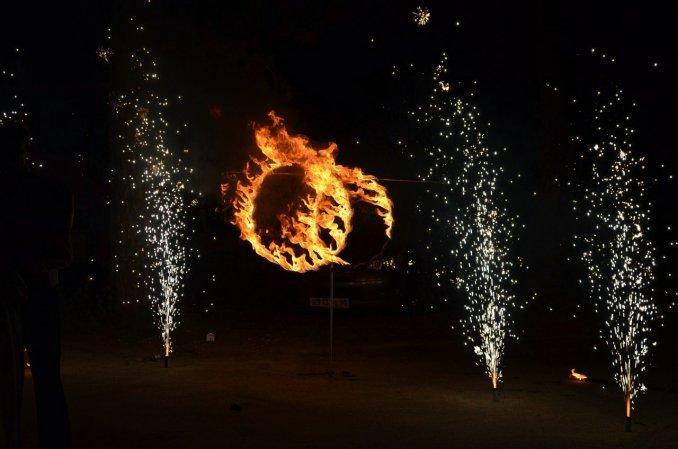 Огненные кольца