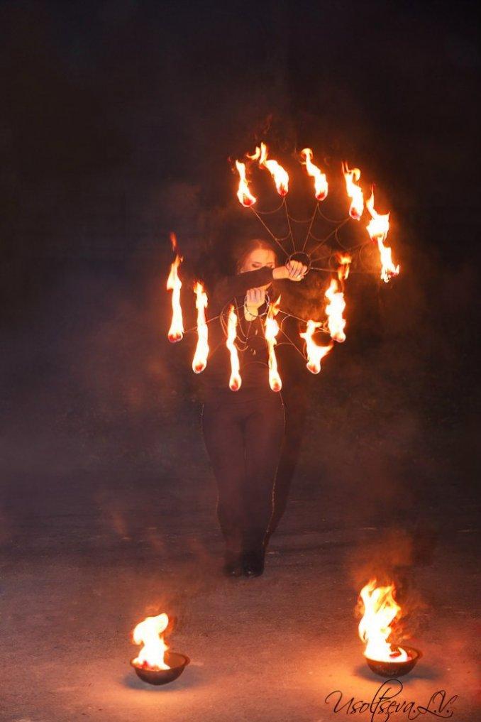 FireFox Огненное шоу Сергиев Посад