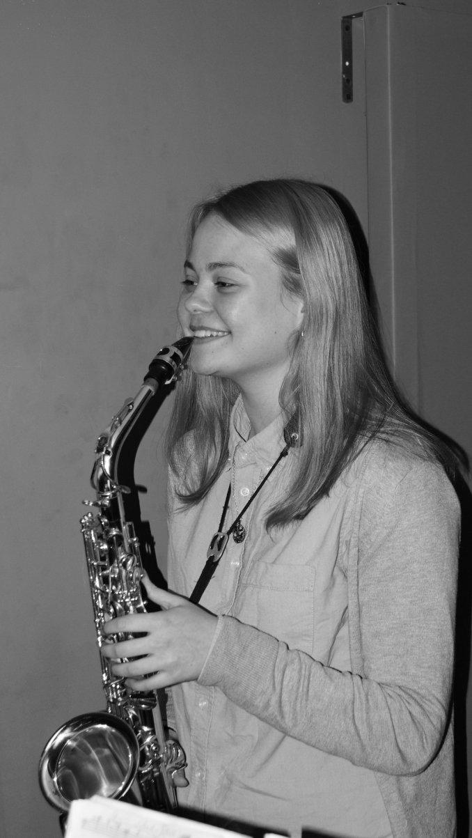 Дарья Иванова - саксофон