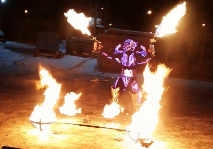 """Номер """"Robo-fire"""""""