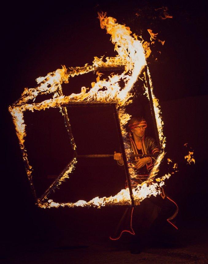 Огненный куб