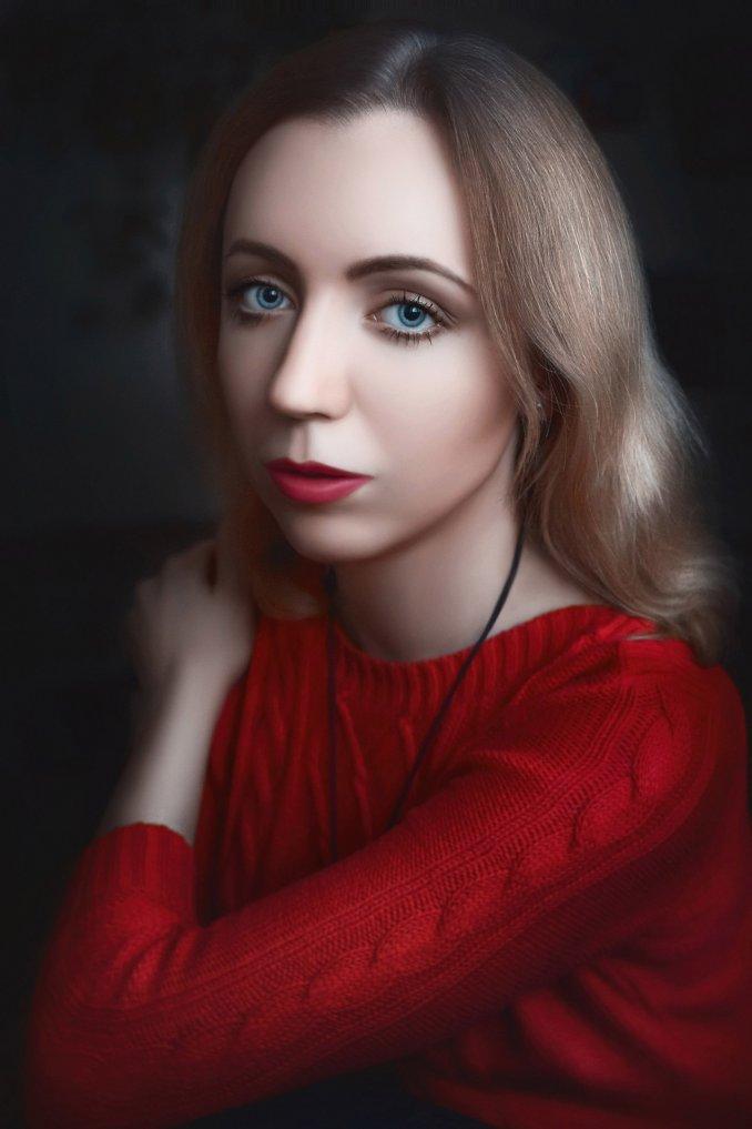 Портретное фото Марии Кочубей