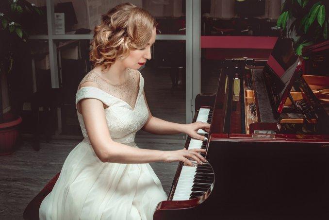 """Фото Марии Кочубей с вокального концерта """"Вечер романсов"""""""