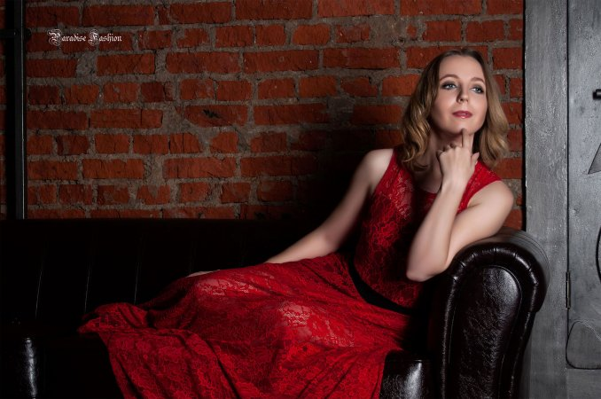 Студийное фото Марии Кочубей