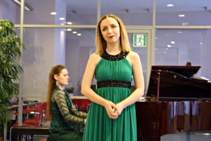 Фото с концерта барочной музыки в библиотеке им. Лепсе