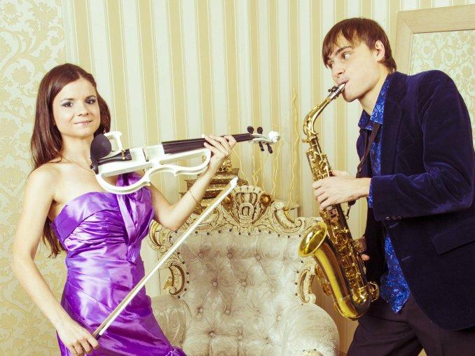 Дуэт скрипки и саксофона Reforte