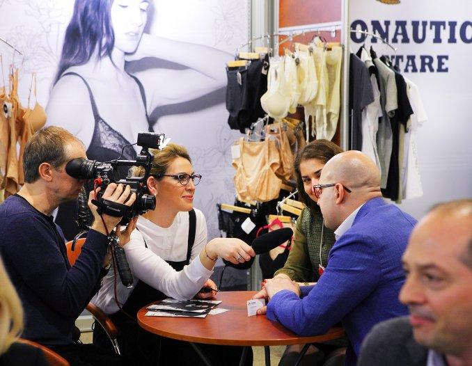 Цикл интервью на выставке Lingerie-Show - Forum 2015