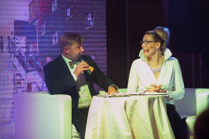 Приятный дуэт с коллегой Александром Пичуевым
