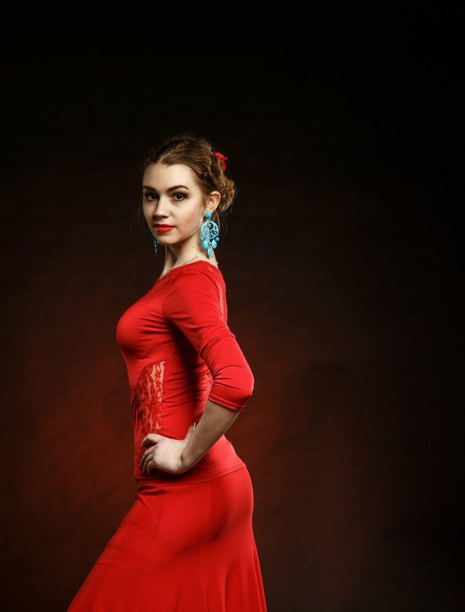 Анна Калиновская (танец фламенко)