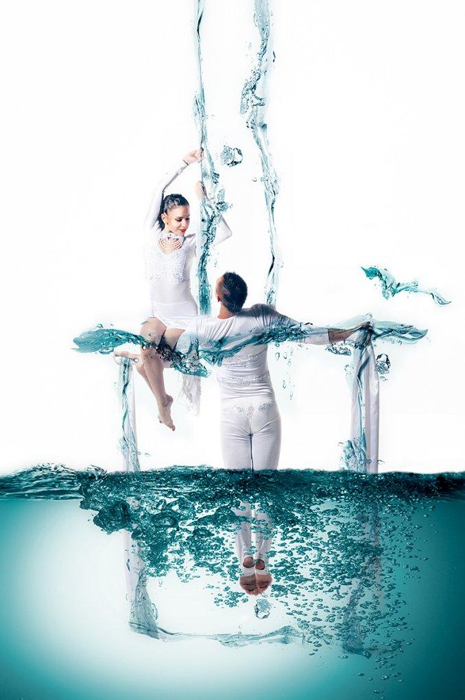 Акробатический дуэт Алексей и Анастасия