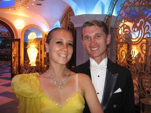 Вадим и Елена Лужных Бальные танцы