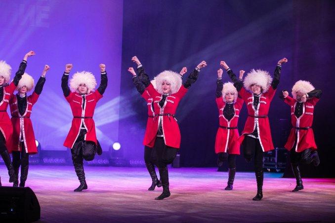 Зажигательные кавказские танцы