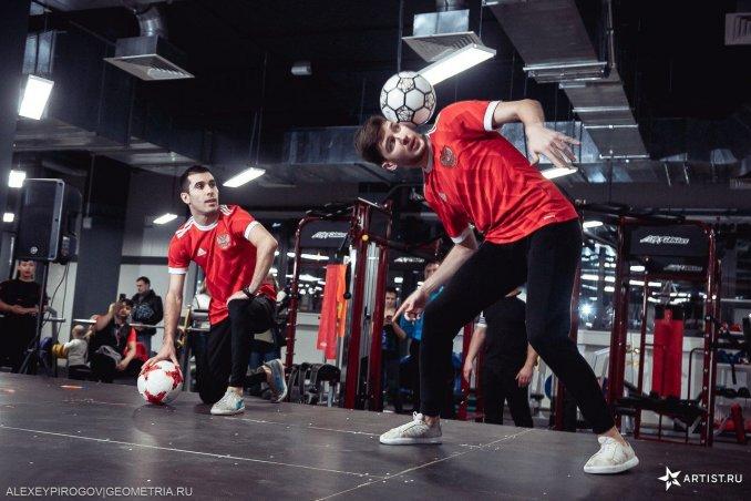Футбольный фристайл-EKBFF