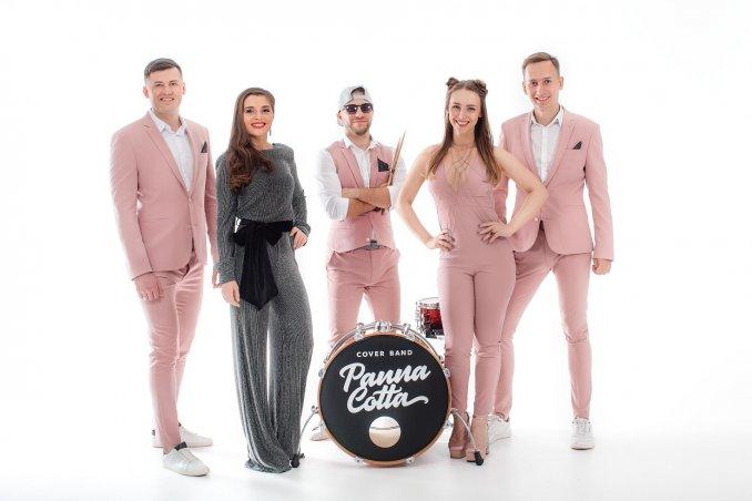 Музыкальная поп кавер группа Panna Cotta (Панна Котта)