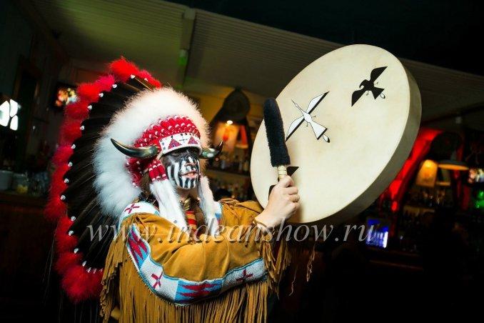 Индейское шоу Чанте Ша (индейцы и ковбои)