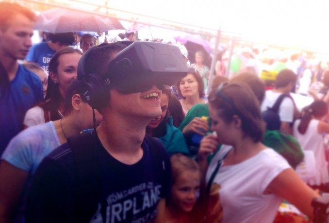 Виртуальная Реальность Oculus Rift DK2