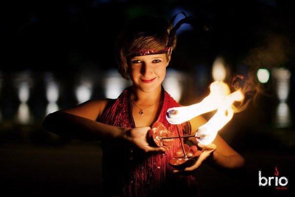 Огненно-пиротехническое шоу от проект Brio