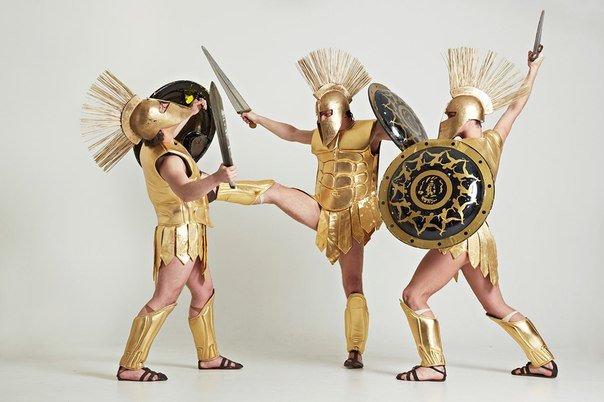 Античное шоу Спарта
